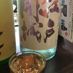 名酒センター - 港区芝で作っている江戸開城 こちらも喉ごしの良いすっきりしたお酒です