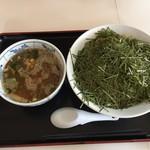 東京大勝軒 - 料理写真:つけ麺大+のり