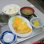 みたけ食堂 - 料理写真:朝食用に選んだメニュー