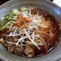 奥三河製麺-ししらーめん単品(780円)