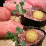 助八寿司 - 前沢牛セット