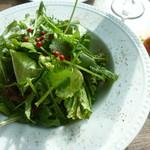 83000553 - パクチーと水菜のサラダ(720円)
