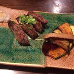醍醐 花山 - 小倉牛カルビのステーキ