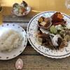 つぼ亭 - 料理写真:一品ランチ(スズキのソテー バルサミコソース) @950