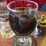 珈琲西武 - セットのアイスコーヒー