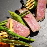 マーマ ノン マーマ - 料理写真:松阪牛イチボ肉のロースト