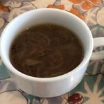 バリエ - 玉ねぎとマッシュルームのスープ