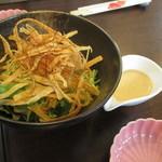 小さな食堂 江口家 - 牛蒡サラダ