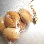 Neige - 玄米バターロール。