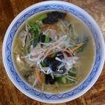 いかり食堂 - 料理写真:野菜ラーメン(塩)