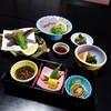 まる八 - 料理写真:山の中の茅葺き屋根のお店でステキな食事
