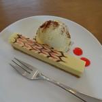 ドッピオ コーヒー ファクトリー - スティックチーズケーキ250円