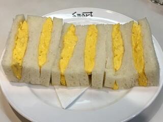 スマート珈琲店 - タマゴサンドイッチ