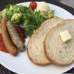 83015048 - イタリアンソーセージとパン
