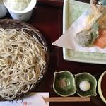 蕎麦 伊とう - 料理写真:天ざる蕎麦