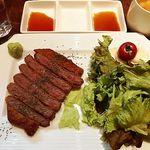 83015638 - 牛バル特製 牛カツ(ライス+スープ付)(税抜1000円)