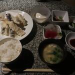 銀平 - 料理写真:天ぷら定食