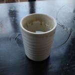 カフェドムッシュ - 梅昆布茶