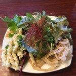 レストランルピナス - 極上海鮮丼のサラダバー