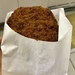 中村屋 - ミンチカツ120円…揚げたてサクサクでとっても美味しかったです。
