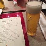 モダンカタランスパニッシュ ビキニ - 乾杯の生ビール