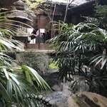 サロン・ド・テ オ・グルニエ・ドール - 坪庭を眺めつつのんびり