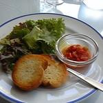 デルフィーノ - サラダとパン