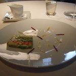 8302647 - 野菜のさわやかなテリーヌ 上野原ハーブのクリーム