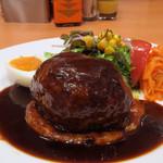 七條 - ハンバーグステーキ