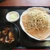 深山 - 料理写真:あぐー豚の蕎麦(単品)900円也