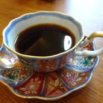 菜食 左ェ門 - サイフォンコーヒー