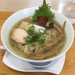 らぁめん たんぼ - 梅塩らぁめん780円