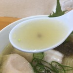らぁめん たんぼ - 塩スープ