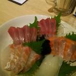 鴨川港 魚魚組 - 刺身5点盛り(ランチにて)