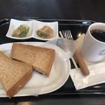アグーズカフェ - ルーベンサンドセット