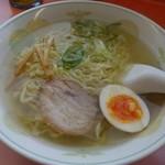 ラーメン 蔵王桃花 - 塩ラーメン。