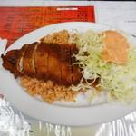 レストランばーく - トマトライスかつ¥700-