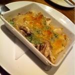 クォーレ - ツブ貝ときのこのガーリック焼