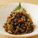 もつ鍋・水炊き 博多若杉 - 特製辛子高菜!