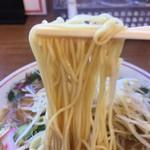 まるよし - 中細ストレート麺