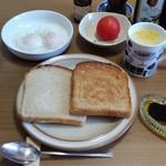 キングベーク - 全粒粉角食・そのままとトーストを1枚ずつ