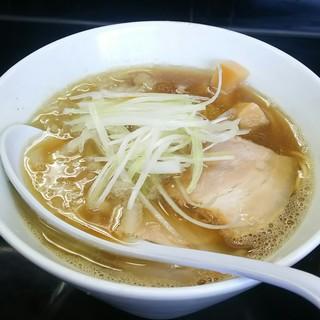 煮干中華そば のじじ - 料理写真:煮干し中華そば(ノーマル)(750円)