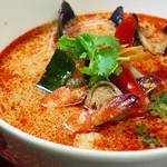 ニランカフェ - シーフードのトムヤムスープ