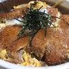 三喜食堂 - 料理写真:かつ丼650円。かつがサクッと良い感じでとても美味しかったです。