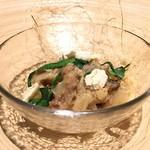 yoshiyuki - ビゴリ 豚スネ肉のラグーとバターのソース 春の韮