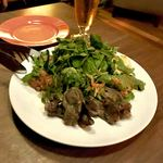 チャンバーズ - *砂肝のコンフィとレンズ豆のサラダ(¥500)