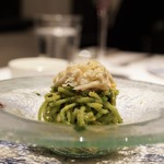 83038961 - ☆渡り蟹と菜の花の冷製タリオリーニ