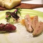クッチーナ イタリアーナ ガッルーラ - ☆フォアグラとマンゴー、鴨胸肉