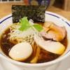 手打式超多加水麺 ののくら - 料理写真:■中華そば 煮玉子入り(醤油) 850円