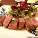 加藤牛肉店 - 山形牛のサーロイン、シャトーブリアン、ランプのステーキ
